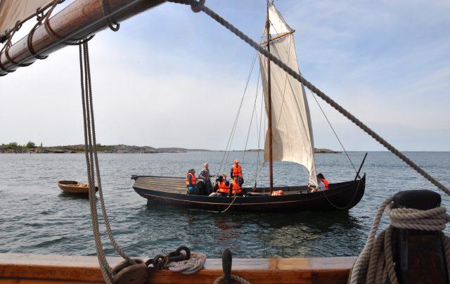 Pyhän Olavin merireitti vie pyhiinvaeltajat purjelaivalle