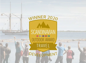 Scandinavian Outdoor Travel Awards Winner