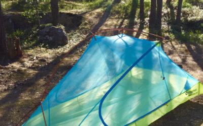 Pyhän Olavin merireitti – yöpyminen telttaillen